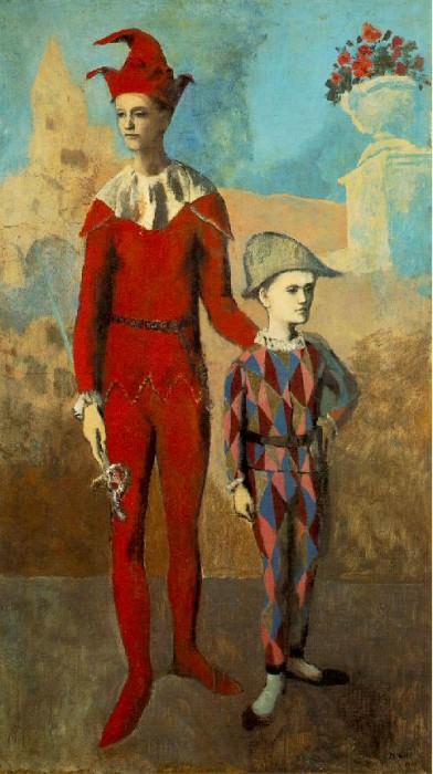 1905 Acrobate et jeune arlequin2. Pablo Picasso (1881-1973) Period of creation: 1889-1907