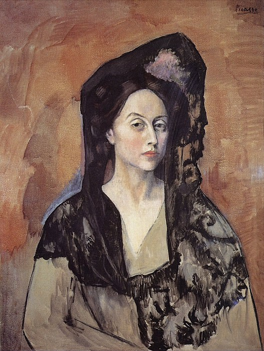 1905 Portrait de Madame Benedetta Canals. Pablo Picasso (1881-1973) Period of creation: 1889-1907