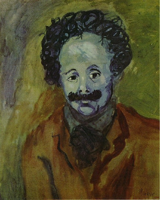 1904 Portrait de SebastiЕ Junyer-Vidal. Pablo Picasso (1881-1973) Period of creation: 1889-1907
