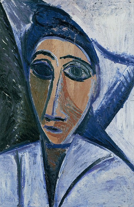 1907 Buste de femme ou de marin. Pablo Picasso (1881-1973) Period of creation: 1889-1907