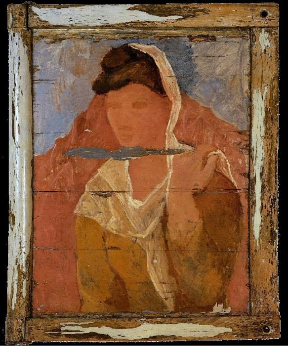 1906 Fernande Е la mantille. Pablo Picasso (1881-1973) Period of creation: 1889-1907