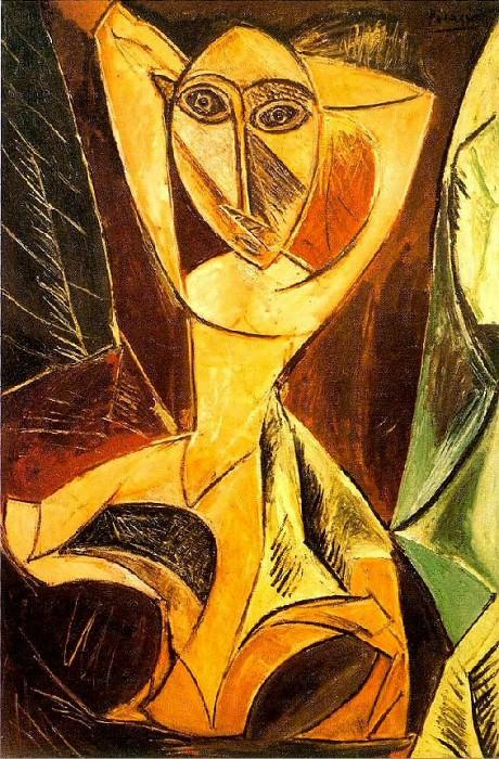1907 Grande danseuse dAvinyв. Pablo Picasso (1881-1973) Period of creation: 1889-1907