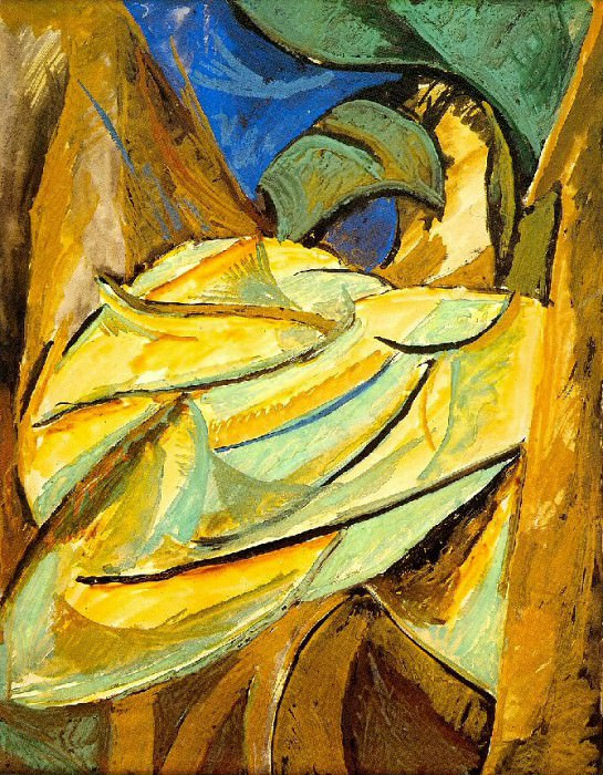 1907 Feuillage. Pablo Picasso (1881-1973) Period of creation: 1889-1907