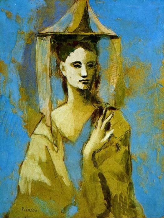 1905 Mallorquine. Pablo Picasso (1881-1973) Period of creation: 1889-1907