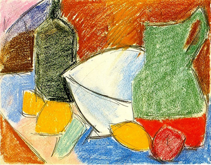 1907 Les Citrons. Pablo Picasso (1881-1973) Period of creation: 1889-1907