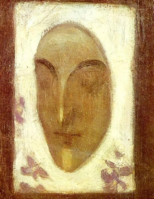 1900 Masque de visage. Pablo Picasso (1881-1973) Period of creation: 1889-1907