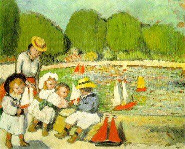 1901 Le Bassin des Tuileries. Pablo Picasso (1881-1973) Period of creation: 1889-1907