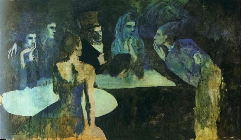 1904 Les Noces de Pierrette. Pablo Picasso (1881-1973) Period of creation: 1889-1907