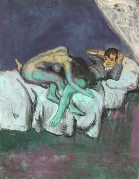 1903 scene erotique. Пабло Пикассо (1881-1973) Период: 1889-1907