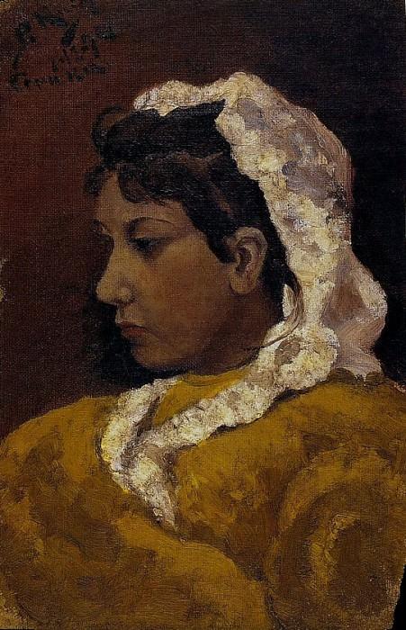 1894 Lola Picasso, sЬur de lartiste. Pablo Picasso (1881-1973) Period of creation: 1889-1907