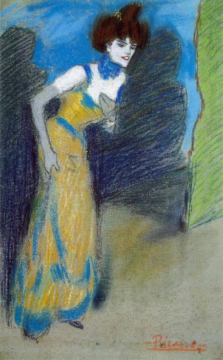 1900 La fin du numВro. Pablo Picasso (1881-1973) Period of creation: 1889-1907
