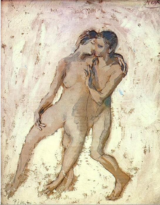 1905 Nus entrelacВs. Pablo Picasso (1881-1973) Period of creation: 1889-1907