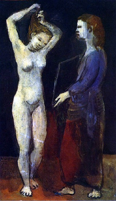 1906 La toilette1. Pablo Picasso (1881-1973) Period of creation: 1889-1907