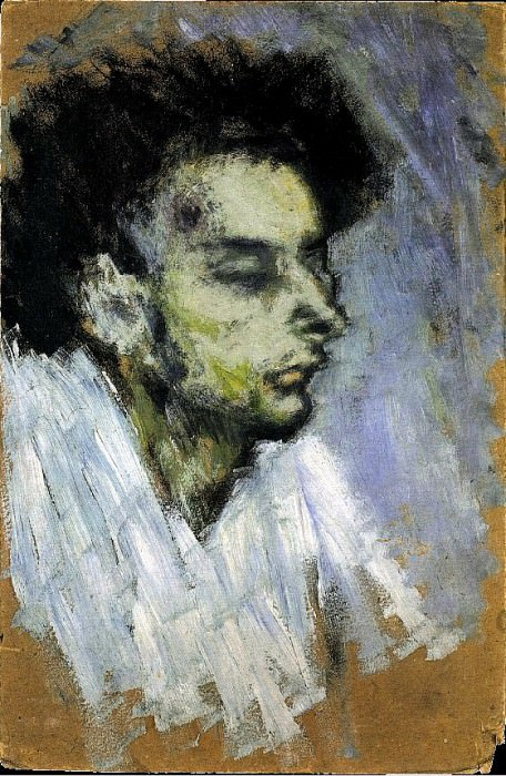 1901 Casagemas mort. Pablo Picasso (1881-1973) Period of creation: 1889-1907 (Le suicide)