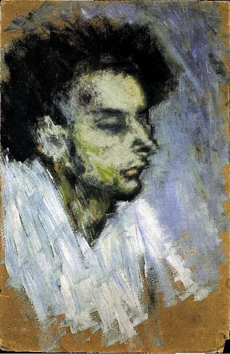 1901 Casagemas mort. Пабло Пикассо (1881-1973) Период: 1889-1907 (Le suicide)
