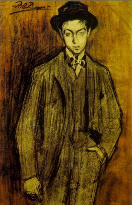 1899 Portrait de Joan Vidal i Ventosa. Пабло Пикассо (1881-1973) Период: 1889-1907