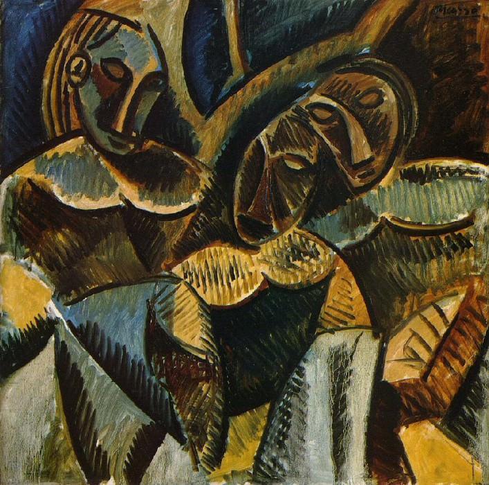 1907 Trois femmes sous un arbre. Pablo Picasso (1881-1973) Period of creation: 1889-1907