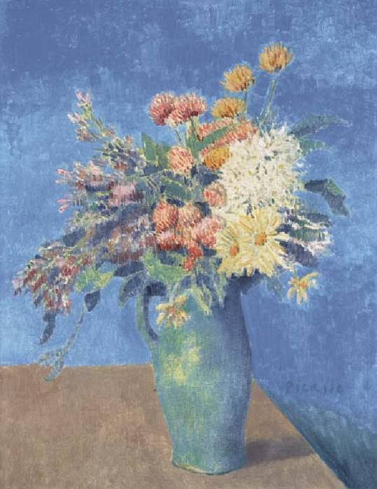 1904 Vase de fleurs. Пабло Пикассо (1881-1973) Период: 1889-1907