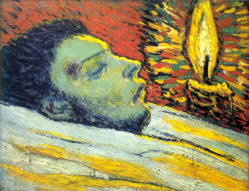 1901 La mort de Casagemas2. Pablo Picasso (1881-1973) Period of creation: 1889-1907
