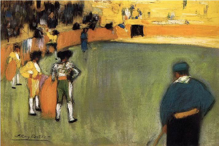 1900 Courses de taureaux (Corrida)4. Pablo Picasso (1881-1973) Period of creation: 1889-1907