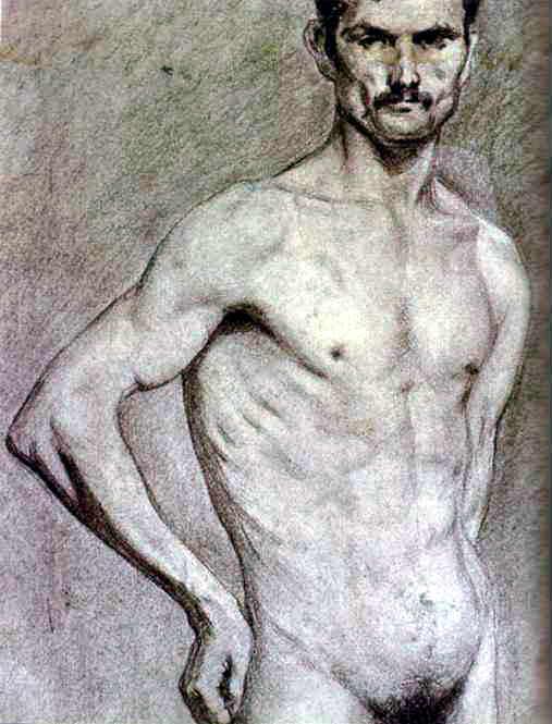 Матадор Луис Мигель Домингин, 1897. Пабло Пикассо (1881-1973) Период: 1889-1907