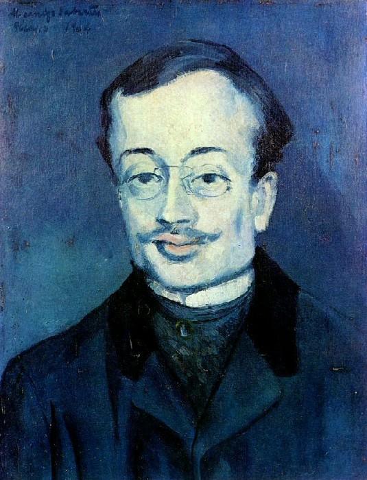1904 Portrait de Jaume SabartВs. Пабло Пикассо (1881-1973) Период: 1889-1907