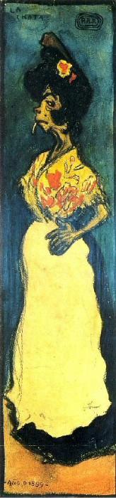 1899 La Chata. Пабло Пикассо (1881-1973) Период: 1889-1907