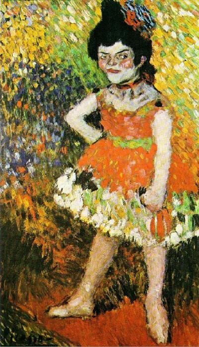 1901 La Nana. Pablo Picasso (1881-1973) Period of creation: 1889-1907