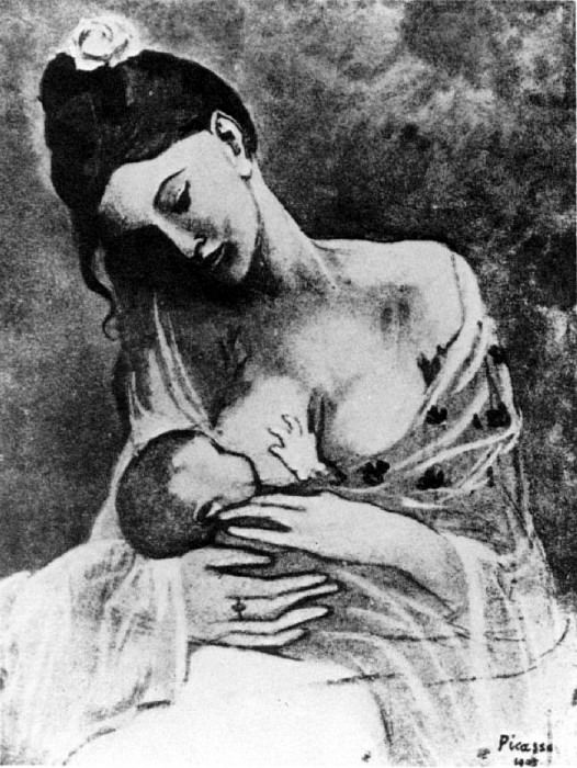 1905 MКre et enfant2. Pablo Picasso (1881-1973) Period of creation: 1889-1907