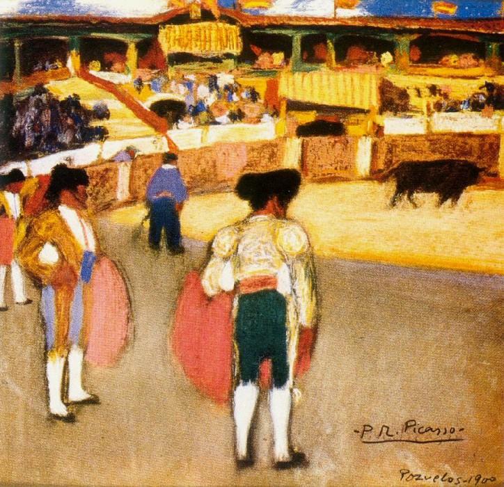 1900 Courses de taureaux (Corrida)2. Pablo Picasso (1881-1973) Period of creation: 1889-1907