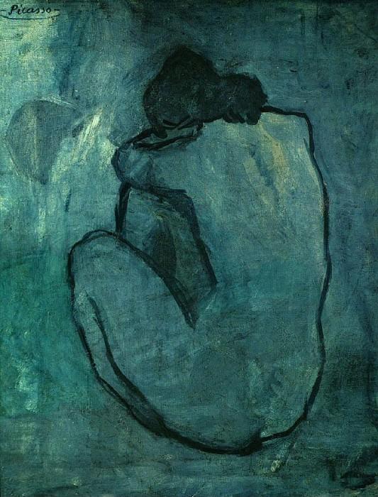 1902 Femme nue 2. Пабло Пикассо (1881-1973) Период: 1889-1907