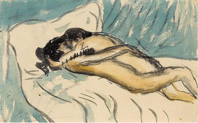1901 Etreinte. Пабло Пикассо (1881-1973) Период: 1889-1907