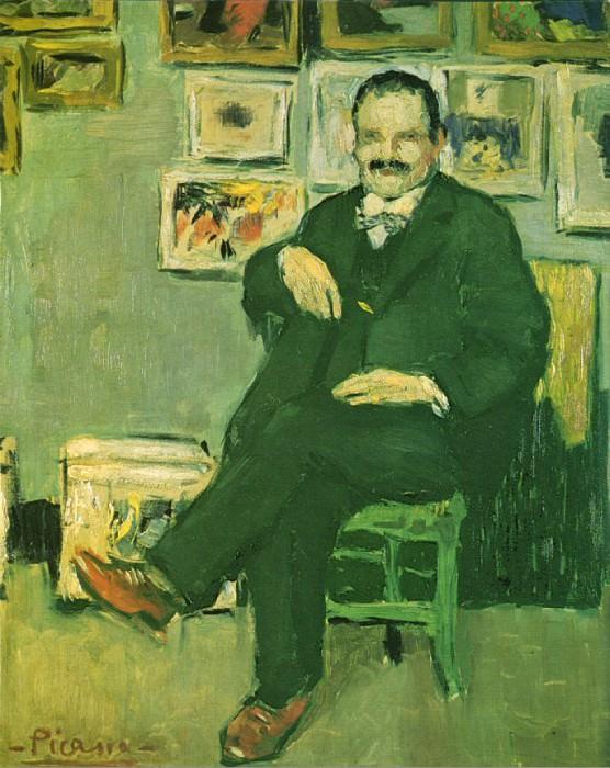 1901 Portrait de Gustave Coquiot. Pablo Picasso (1881-1973) Period of creation: 1889-1907 (Ambroise Vollard)