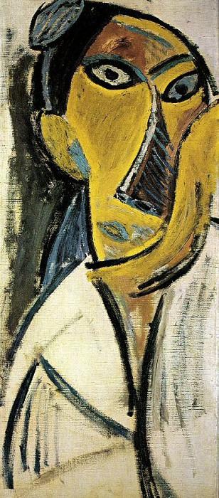 1907 Les Demoiselles dAvinyв 3. Пабло Пикассо (1881-1973) Период: 1889-1907 (Рtude)