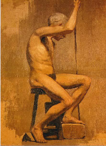 1895 Etude acadВmique. Pablo Picasso (1881-1973) Period of creation: 1889-1907