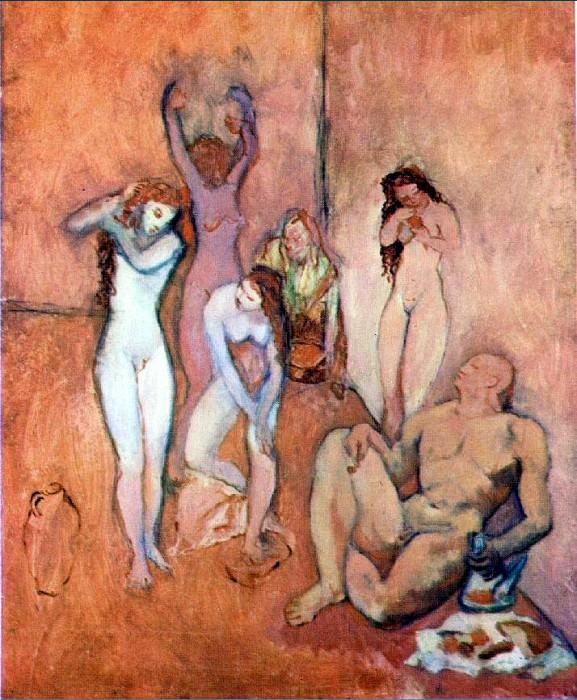 1906 Le Harem. Pablo Picasso (1881-1973) Period of creation: 1889-1907