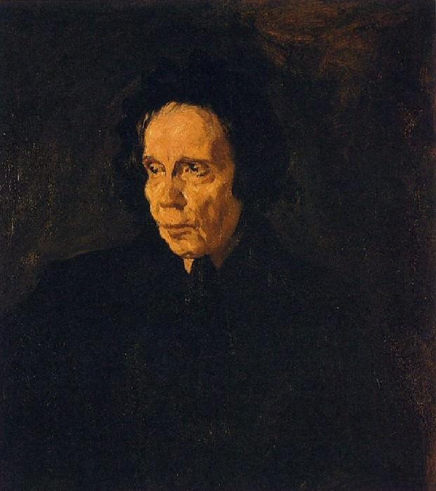 1896 Portrait de la tante Pepa. Pablo Picasso (1881-1973) Period of creation: 1889-1907