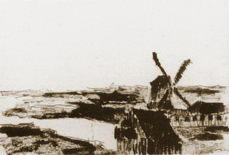 1905 Paysage dans les environs de Schoorl2. Pablo Picasso (1881-1973) Period of creation: 1889-1907