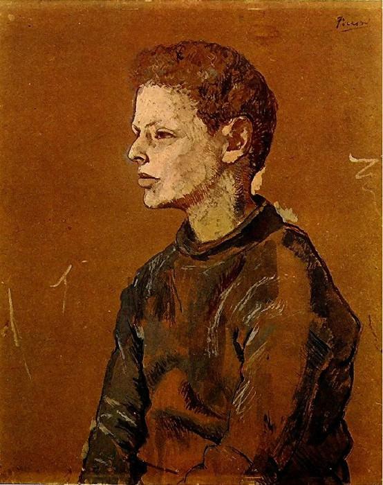 1906 Portrait dAllan Stein. Pablo Picasso (1881-1973) Period of creation: 1889-1907