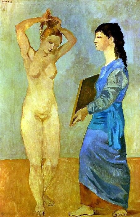 1906 La toilette3. Pablo Picasso (1881-1973) Period of creation: 1889-1907