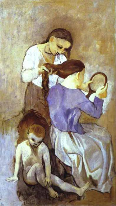 1906 Coiffure. Pablo Picasso (1881-1973) Period of creation: 1889-1907