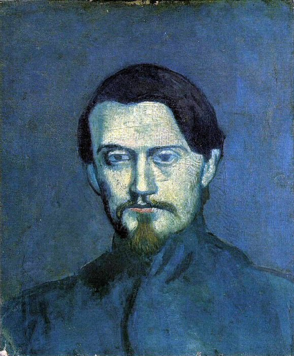 1901 Portrait de Mateu Fernаndez de Soto2. Пабло Пикассо (1881-1973) Период: 1889-1907