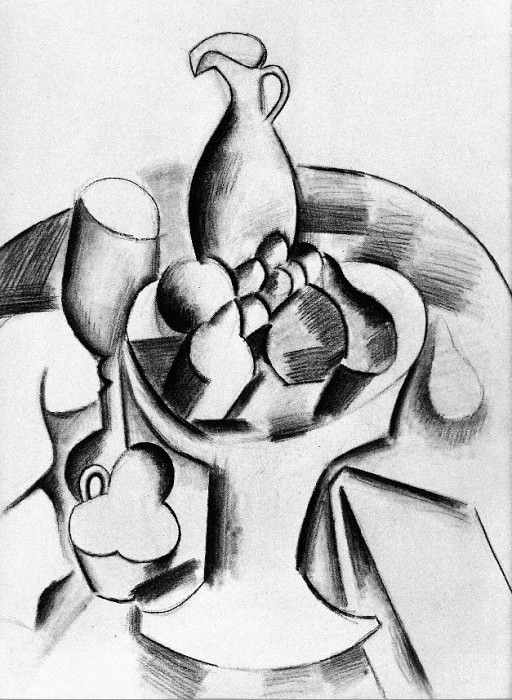 1907 Compotier. Pablo Picasso (1881-1973) Period of creation: 1889-1907