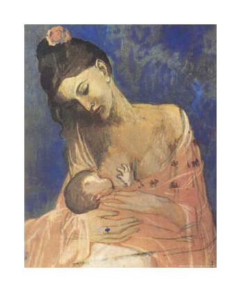 1905 mКre et enfant1. Pablo Picasso (1881-1973) Period of creation: 1889-1907