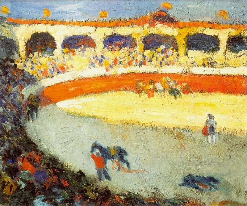 1901 Courses de taureaux. Pablo Picasso (1881-1973) Period of creation: 1889-1907