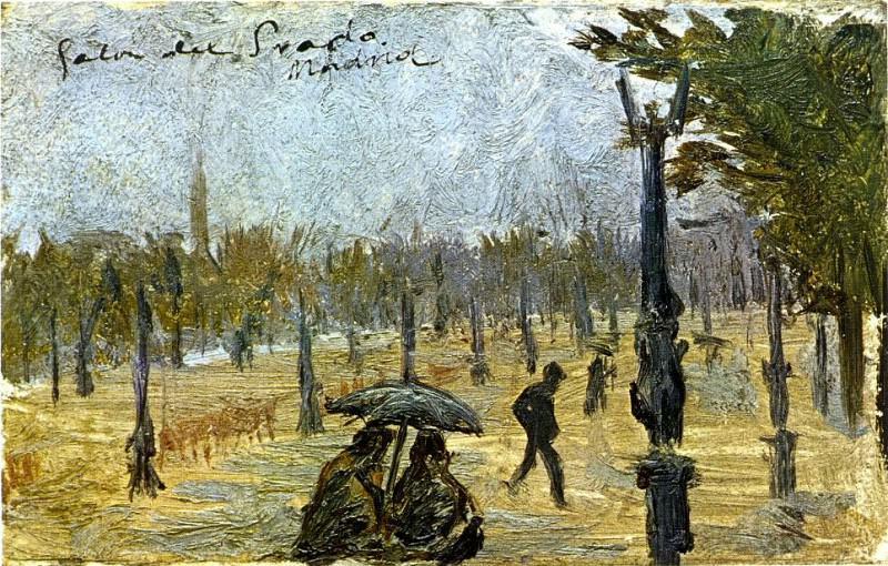 1897 Salon du Prado. Pablo Picasso (1881-1973) Period of creation: 1889-1907