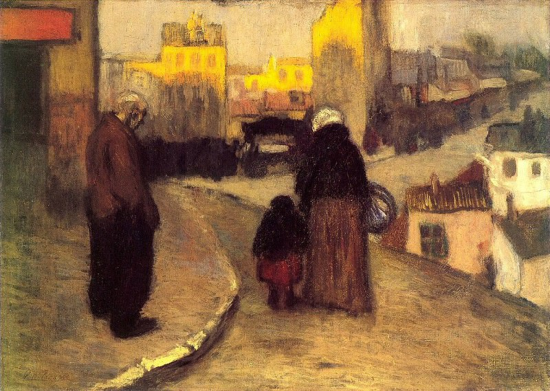 1900 Une rue de Montmartre. Pablo Picasso (1881-1973) Period of creation: 1889-1907