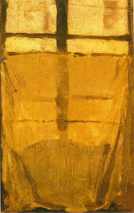 1899 FenИtre fermВe. Pablo Picasso (1881-1973) Period of creation: 1889-1907