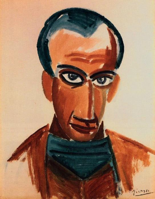 1907 Portrait de Max Jacob. Pablo Picasso (1881-1973) Period of creation: 1889-1907