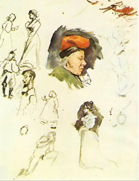 1895 Catalan avec la casquette typique dun paysan. Pablo Picasso (1881-1973) Period of creation: 1889-1907